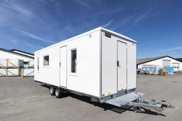 Accommodation Trailer 730 Model B – Seperate Beds (7.3 x 2.48 x 2.9 m)