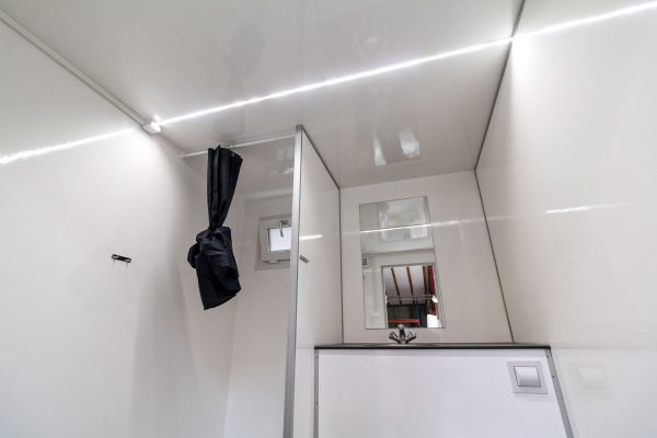 shower and toilet trailer