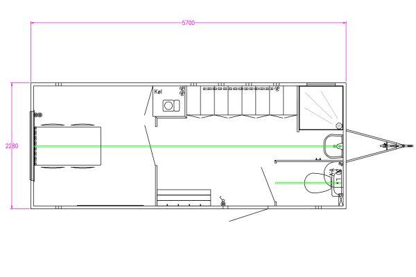 Scanvogn – Staff Trailer 570 (5.7 x 2.28 x 2.9 m)