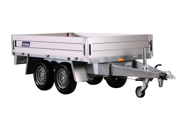 1 way hydraulic tipper trailer