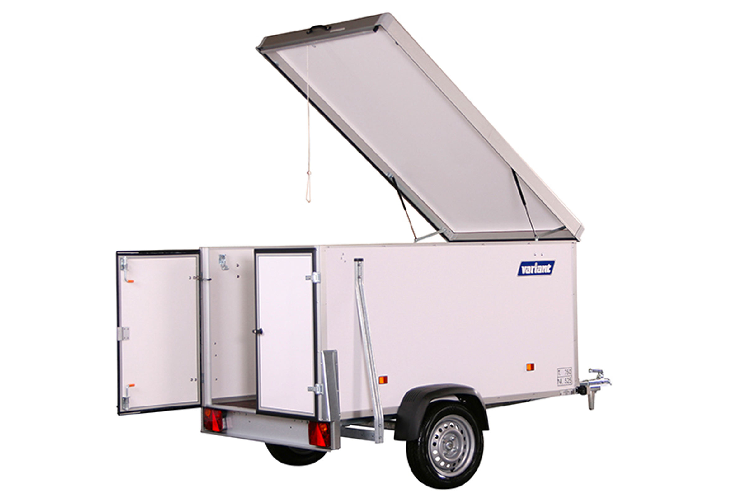 Small Cargo Trailers >> Cargo Trailer 752 Dc2 7x6 Ft