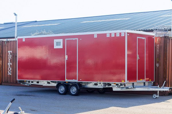 Scanvogn – Decontamination Trailer 570 (5.7 x 2.2 x 2.9 m)