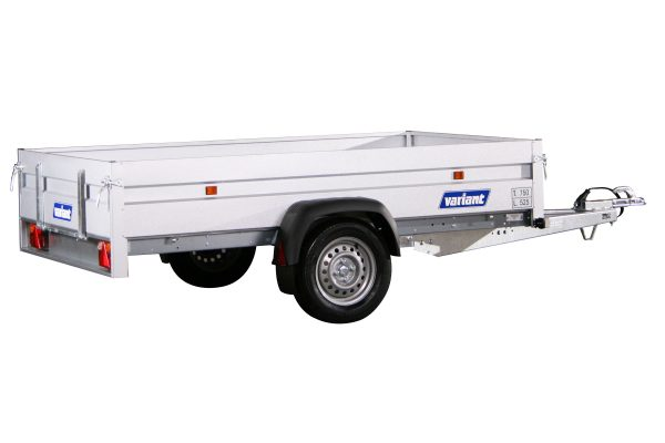 Small Box Trailer 754 F1 with Tilt (9×5 ft)