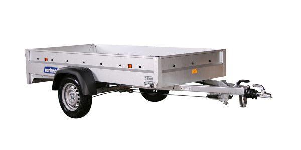 8x4 ft box trailer