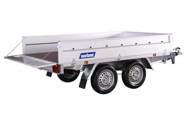 Small Box Trailer 1306 B-13 Steel (8×5 ft)