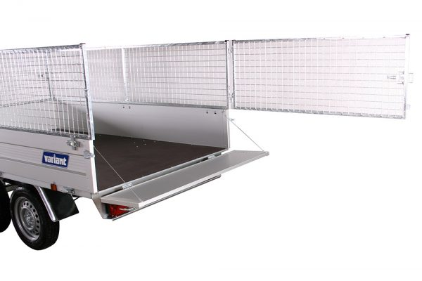 Small Box Trailer 1306 B Alu (9×5 ft)