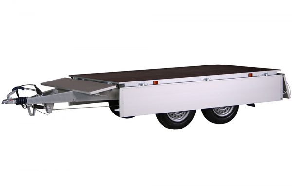 Small Box Trailer 2006 B Alu (9×5 ft)