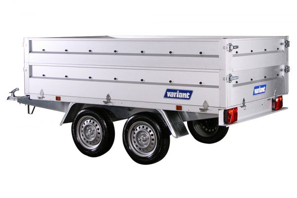 Small Box Trailer 756 A-13 Steel (8.4×5 ft)