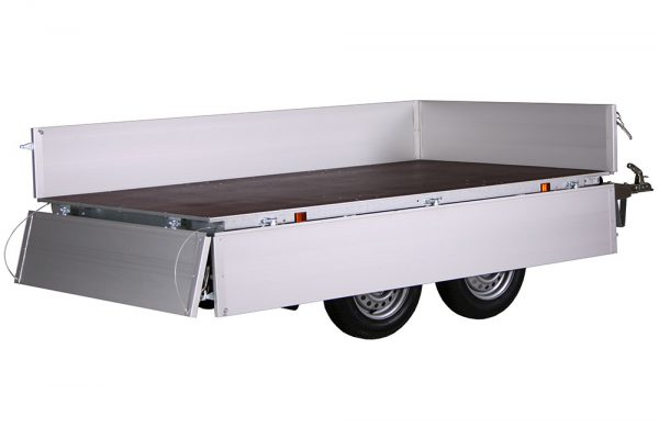 Small Box Trailer 756 A Alu (9×5 ft)