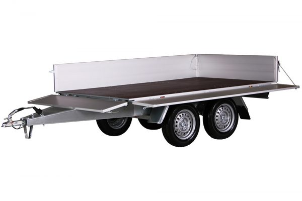 Small Box Trailer 756 A Alu (9×5 ft)