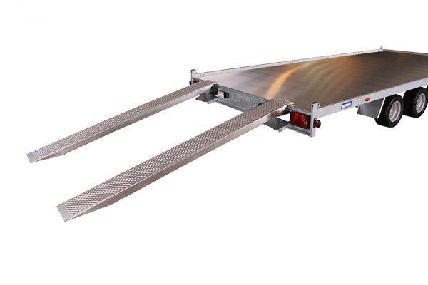 FlatBed Trailer 3521 L4 (14×7 ft)