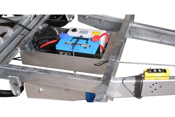 Machine Tipper Trailer 3515 MT (10×6 ft)