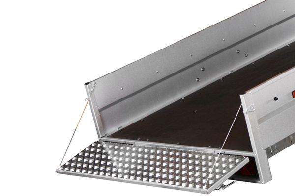 Aluminium Grip On Tailgate