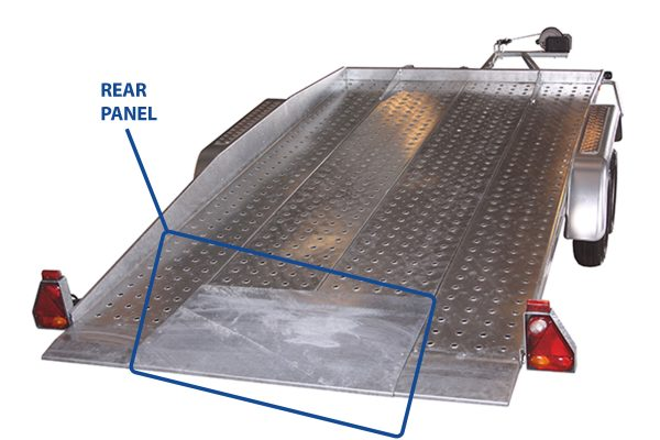 Full Steel Floor Panels For Car Transporters