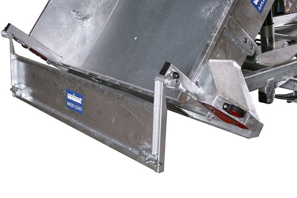 Smooth Galvanised Steel Base For Machine Tippers