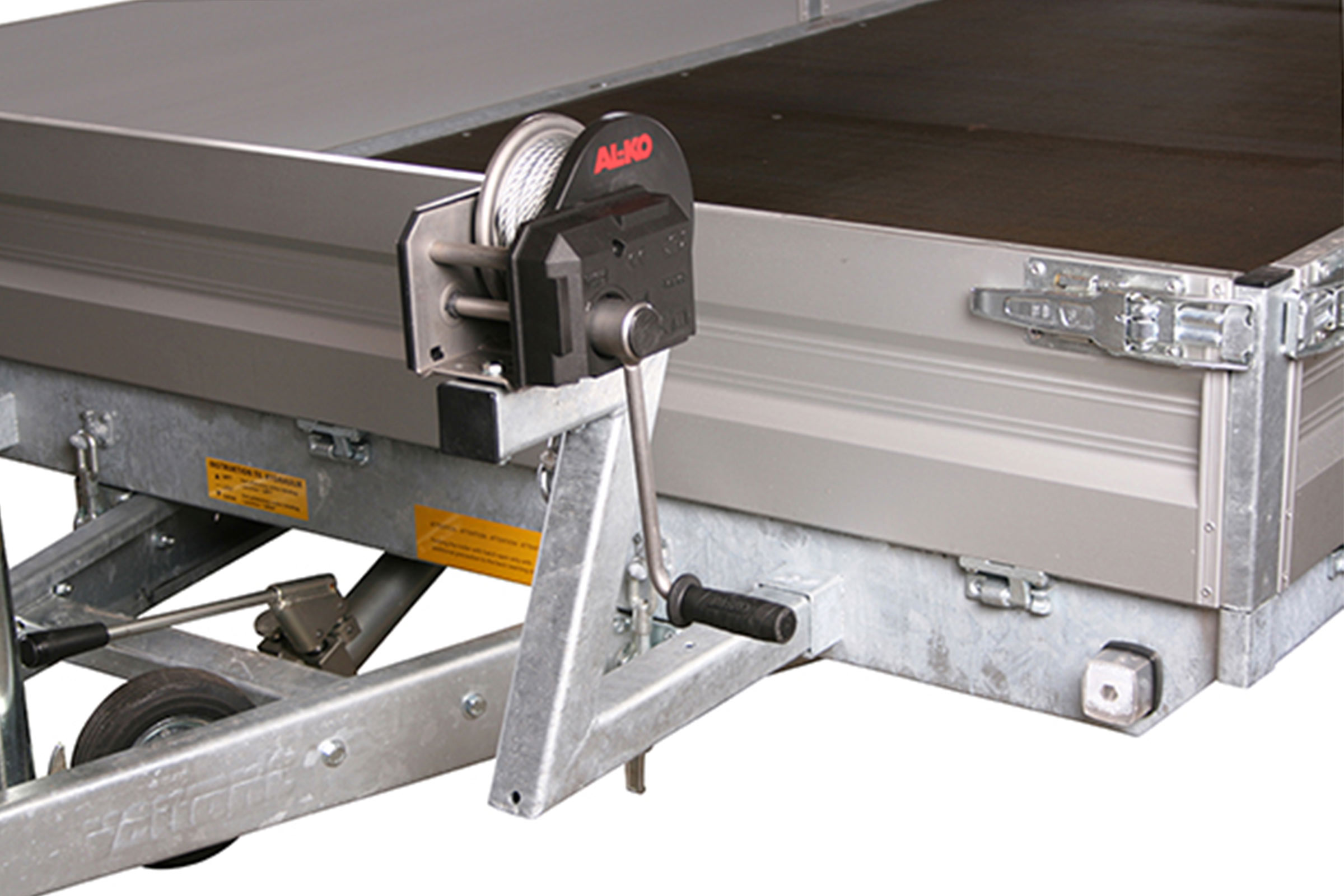 Ramp Stiffener For Uni Trailers