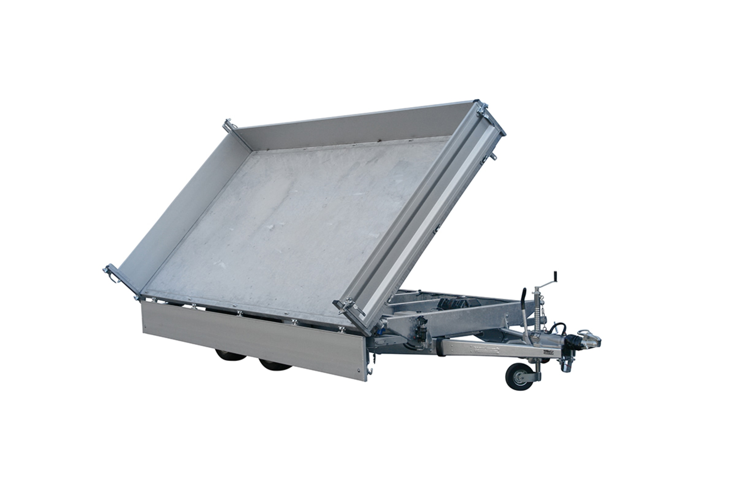 3 way tipper trailer
