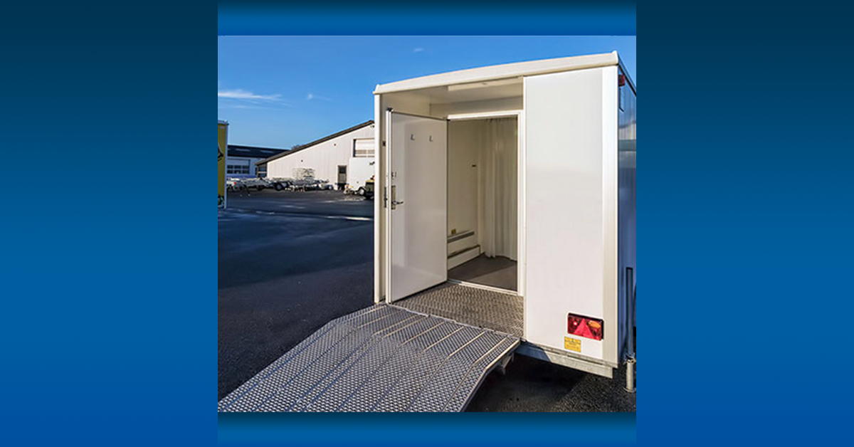 portable disabled trailer ramp