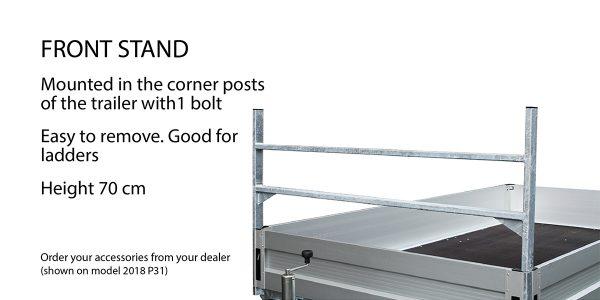 Ladder rack -front
